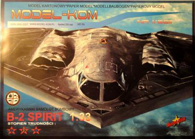 002   *    1\11    *    Amerykanski samolot bombowy  B-2 Spirit  (1:33)        *      M-KOM