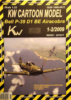 Bell P-39 D1 BE Airacobra (1:33)     *     KW