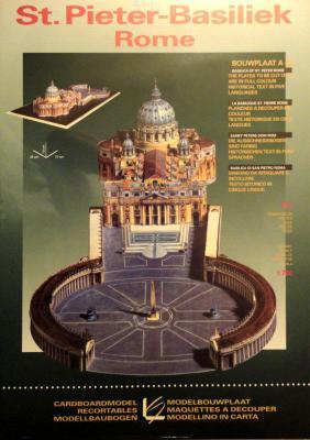 St. Pieter-Basiliek  Rome   1:700    *    LEON