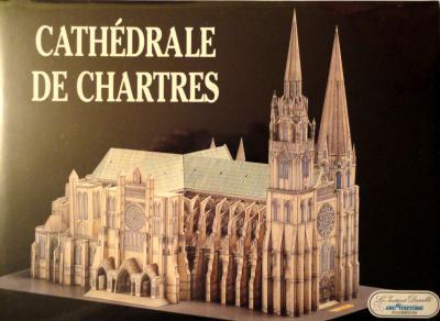 24     *     Cathedrale de Chartres 1:250    *     L' INST  DUR