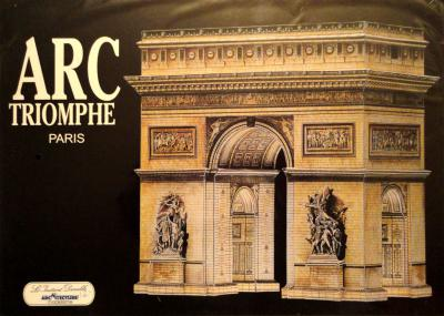 02    *     ARC de Triomphe - Paris 1:250     *    L'INST  DUR