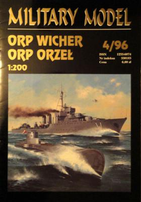 006   *  4\96     *     ORP Wicher, ORP Orzel (1:200)      *     HAL *   MM