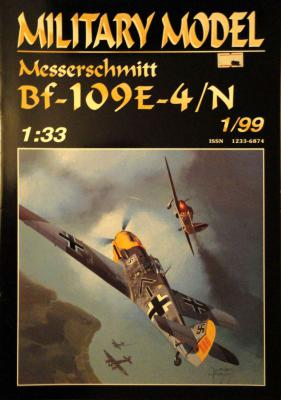009    *   1\99   *     Messerschmitt Bf-109E-4/N (1:33)       *     HAL *  MM