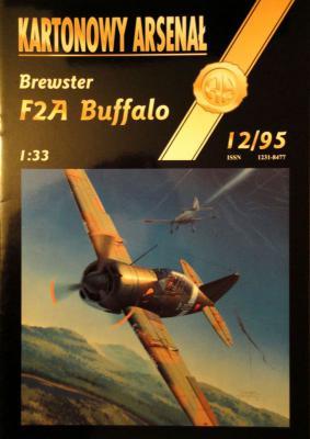 12  *   12\95   *  Brewster F2A Buffalo (1:33)     *       HAL