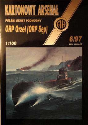 23  * 6\97    *    ORP Orzel (ORP Sep) (1:100)      *      HAL