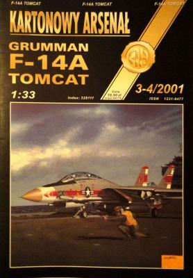 36*  3-4\01   *    Grumman F-14A Tomcat (1:33)      *       HAL