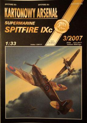 58*  3\07     *     Supermarine Spitfire IXc (1:33)       *     HAL