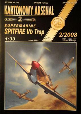 60*  2\08   *   Supermarine Spitfire Vb Trop (1:33)       *       HAL