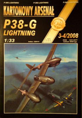 61*   3-4\08     *     P38-G Lightning (1:33)      *       HAL