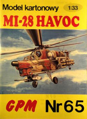 065  *   Mi-28 Havoc (1:33)       *      GPM-J