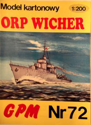 072   * ORP Wicher (1:200)       *      GPM-J