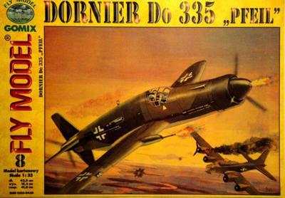 """GOM-008    *    Dornier Do 335 """"Pfeil"""" (1:33)"""