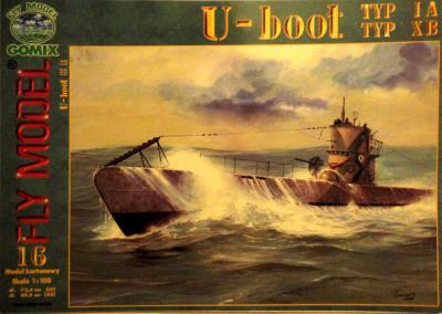 GOM-016    *     U-boot typ IA typ XB (1:100)