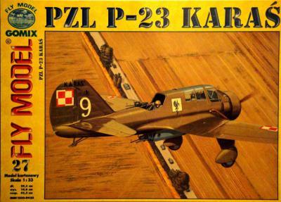GOM-027     *    PZL P-23 Karas (1:33)