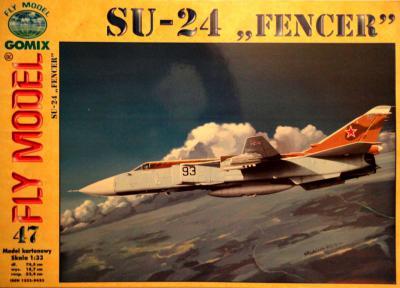 """GOM-047    *    SU-24 """"Fencer"""" (1:33)"""