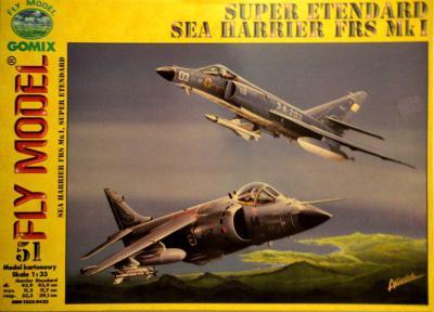 GOM-051    *    Super Etendart & Sea Harrier FRS Mk I (1:33)