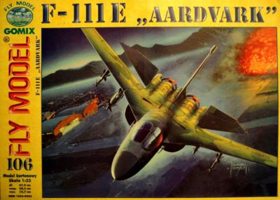 "GOM-106     *    F-111E ""Aardvark"" (1:33)"