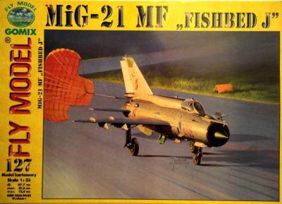 "GOM-127     *      Mig-21 MF ""Fishbed J"" (1:33)"