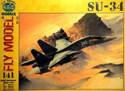 GOM- 141   *    SU-34 (1:33)