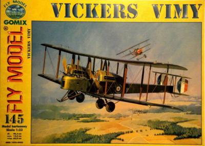 GOM-145     *    Vickers Vimy (1:33)