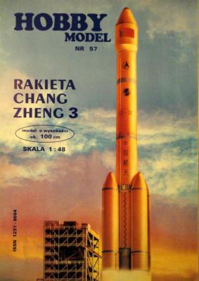Hob\M-057     *      Rakieta Chang Zheng 3 (1:48)