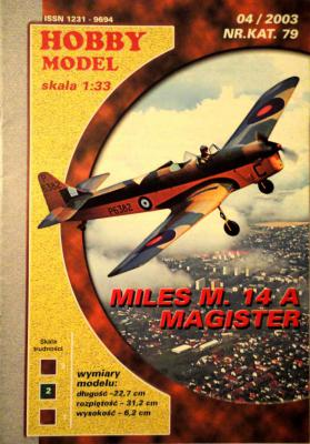 Hob\M-079      *      Miles M. 14A Magister  (1:33)