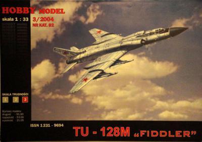 """Hob\M-082     *     TU-128M """"Fiddler"""" (1:33)"""