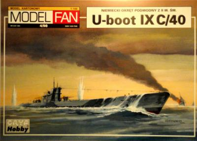 04      *   4\98   *   U-boot typ IX C/40 (1:100)      *      M-FAN