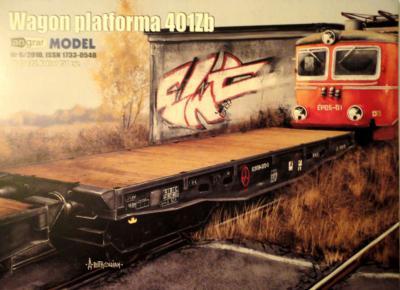 024    *  6\10     *      Wagon platforma 401Zb (1:25)    *    ANGR