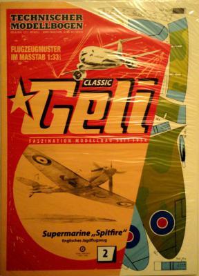 002    *    Supermarine Spitfire (1:33)   *   GELI