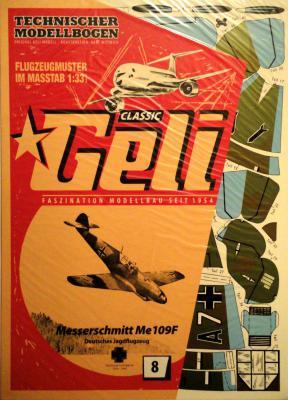 008     *     Messerschmitt Me 109 F (1:33)   *   GELI