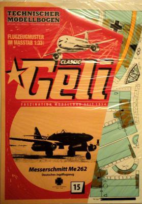 015    *    Messerschmitt Me 262 (1:33)    *   GELI