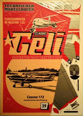 039    *    Cessna 172 (1:33)    *  GELI