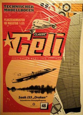 """048     *     Saab J35 """"Draken"""" (1:33)    *   GELI"""