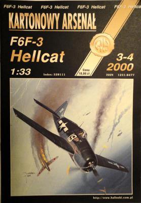 32 *  3-4\00    *    F6F-3 Hellcat (1:33)      *      HAL