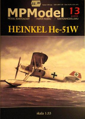 13           *               Heinkel He-51W (1:33)       *      MP