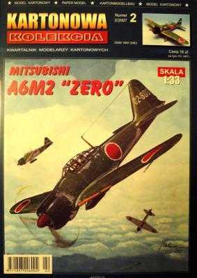02     *   2\07    *    Mitsubishi A6M2 Zero (1:33)    *    KART-KOL