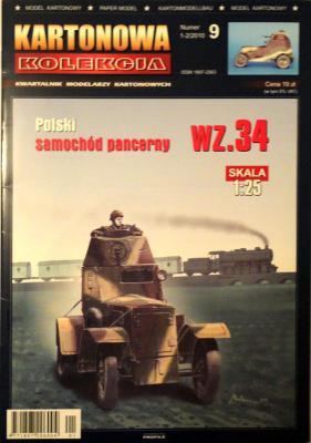 09       *   1-2\10  *  Polski samochod pancerny WZ.34 (1:25)     *   KART-KOL