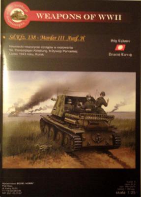 M\H-03             *                   Sd.Kfz. 138 - Marder III Ausf.H (1:25)