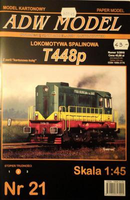 ADW-021  *  Lokomotywa spalinowa T448p (1:45)