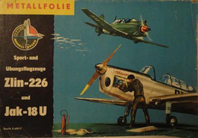 08    *   Zlin-226 & Jak-18U         *     KRAN