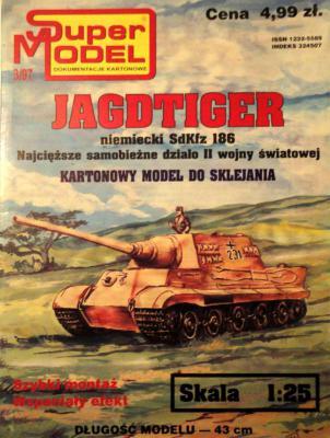 3\97   *  Jagdtiger (1:25)        *      SUPER