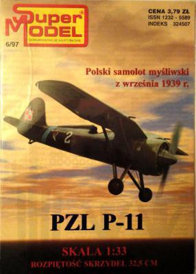 6\97    *   PZL P-11 (1:33)   *   SUPER