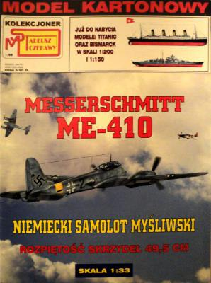1\98   *   Messerschmitt Me 410 (1:33)       *    SUPER