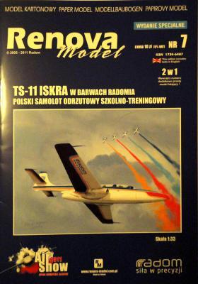 007             *            TS-11 Iskra w Barwach Radomia (1:33)        *     REN
