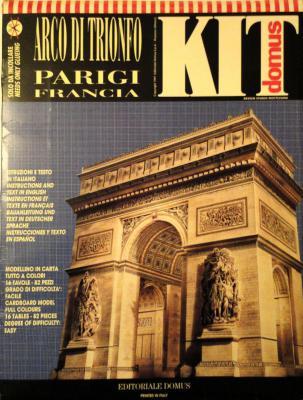 003    *   Arco di Trionfo - Francia   1:150   *   KIT  DOMUS