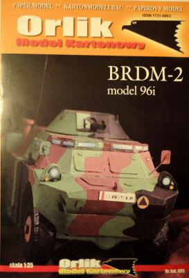 005            *              BRDM-2 model 96i (1:35)        *       ORL