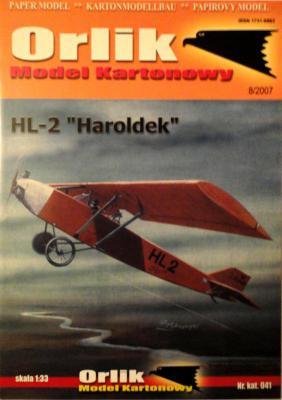 "041           *             HL-2 ""Haroldek"" (1:33)        *     ORL"