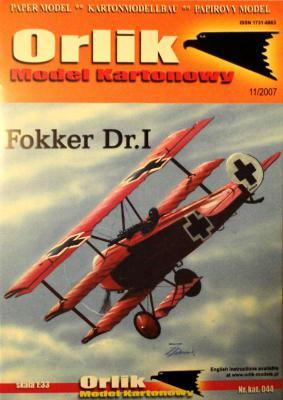 044         *           Fokker Dr.I (1:33)      *     ORL