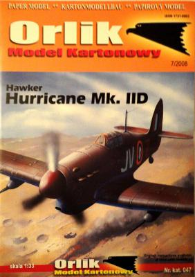 047          *            Hawker Hurricane Mk. IID (1:33)       *      ORL